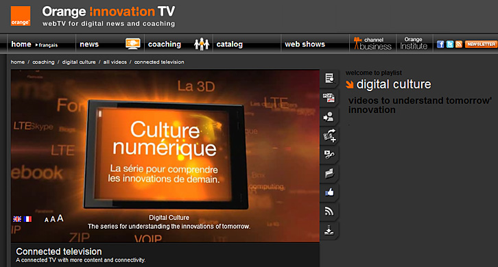 Orange Innovation TV