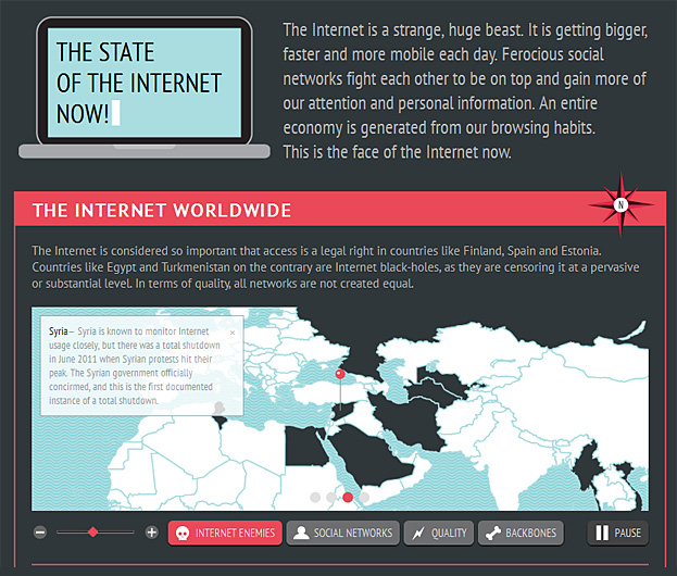 The state of the Internet - July 2011