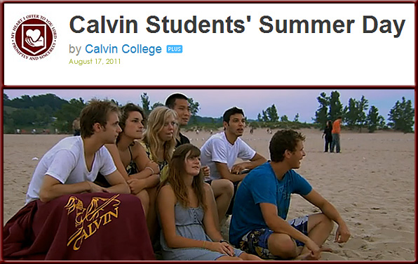 Calvin College Students' Summer Day 2011