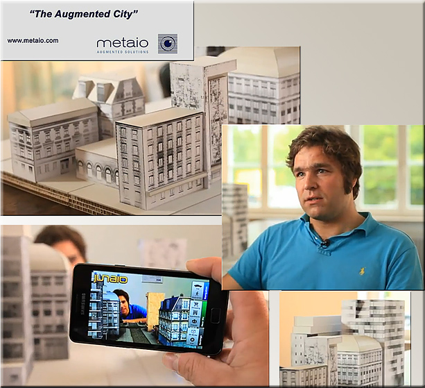 The Augmented City - by Metaio (August 2011)