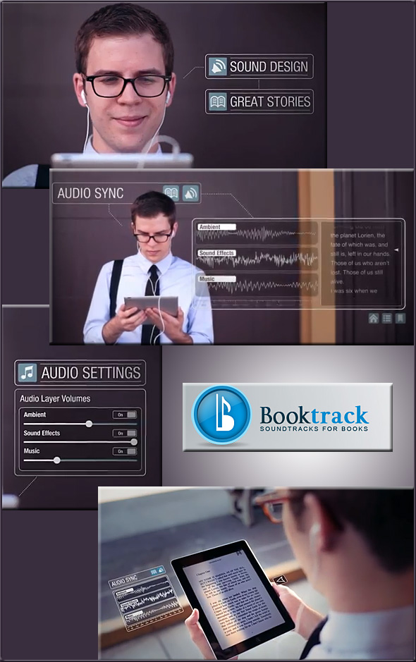 Booktrack.com -- another example of the trend of books moving towards multimedia-based apps