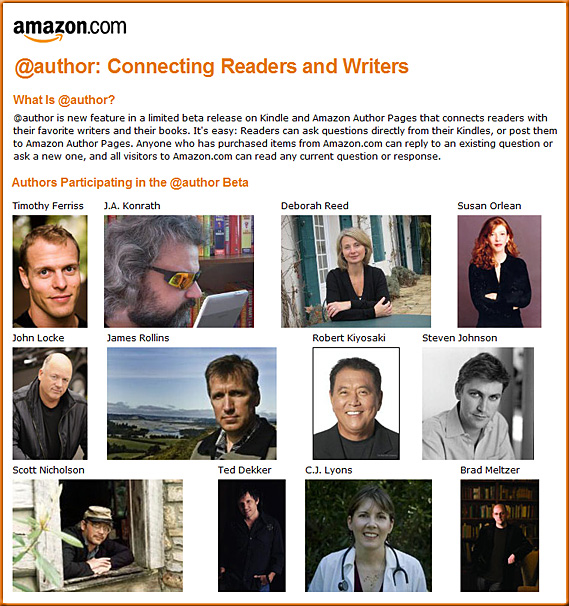 Amazon.com -- Connecting readers and writers