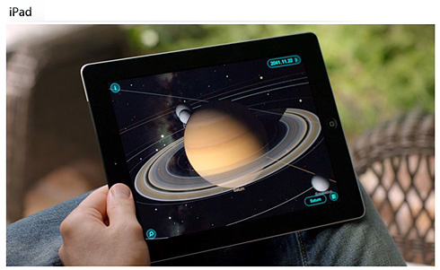 Learning with the iPad -- from Apple