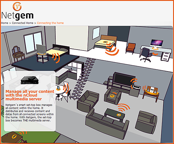 Netgem - the connected home
