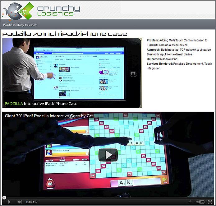 Padzilla 70 Inch iPad/iPhone Case