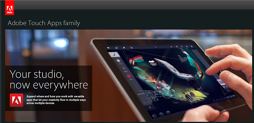 Adobe announces Touch Apps on 10-3-11