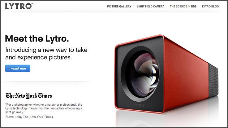 The Lytro camera  -- a revolutionary step in photography