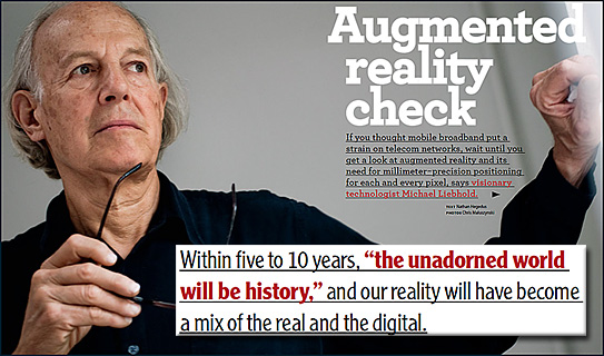 Augmented Reality Check - from Michael Liebhold - Nov 2011