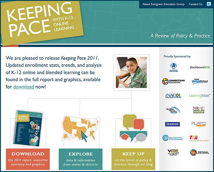 Keeping Pace with K-12 Online Learning -- 2011