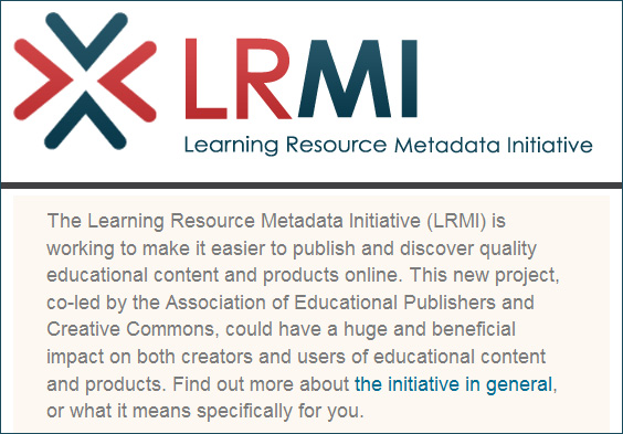 The Learning Resource Metadata Initiative (LRMI)