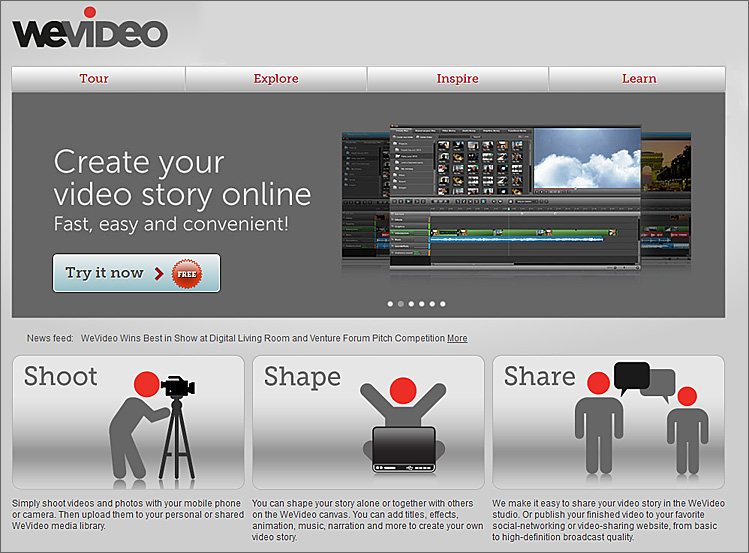 WeVideo.com -- Using the cloud and digital video to bring stories to life