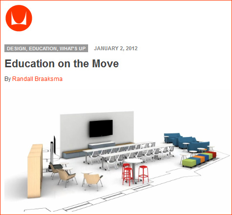 Education on the Move - from Herman Miller - January 2012