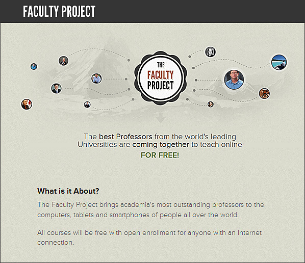 The Faculty Project - January 2012