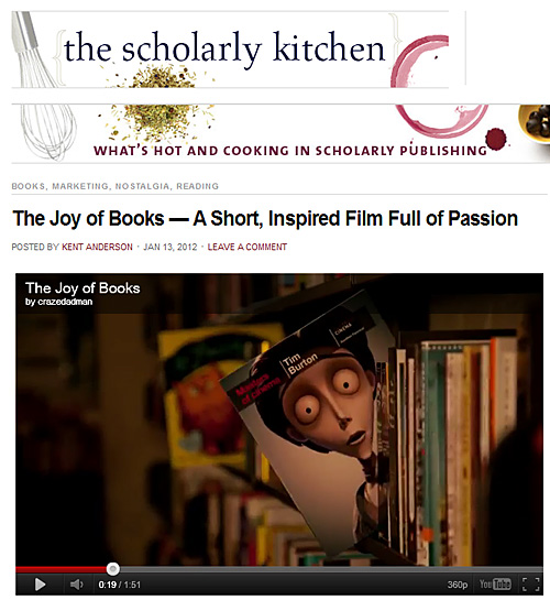 The Joy of Books — A Short, Inspired Film Full of Passion