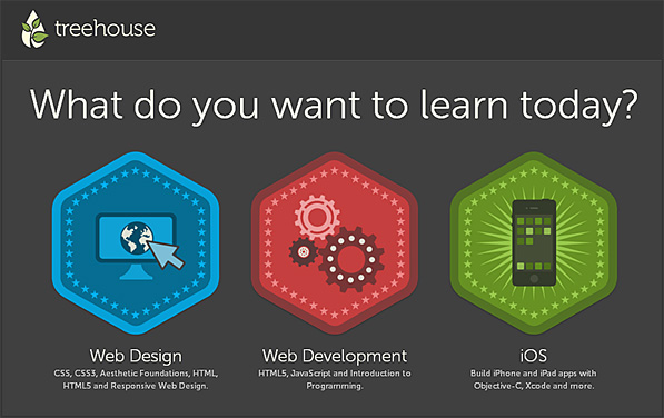 treehouse.com -- learn web design, web development, and iOS development