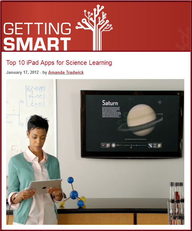 Top 10 iPad apps for science learning