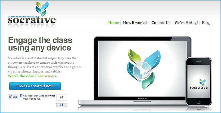socrative.com -- engage the class using any device
