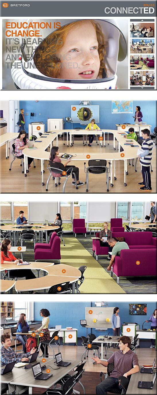Edu2.0 from bretford.com -- learning space designs