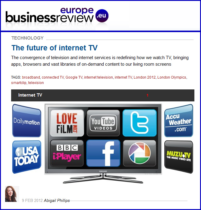 The future of internet TV [Europe]