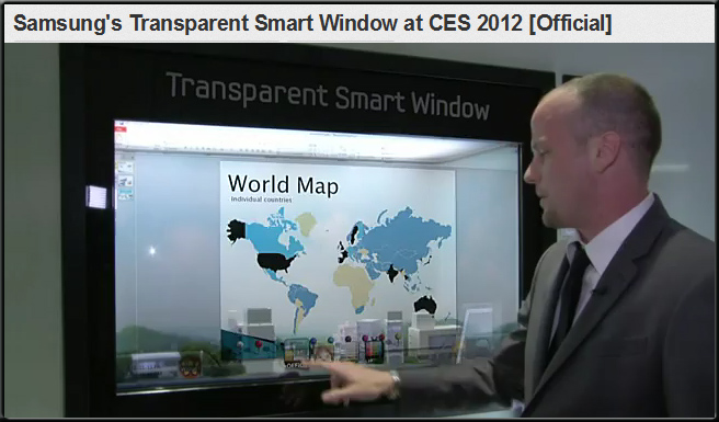 Multitouch, connected device; a foreshadowing of the chalkboard for the future smart classroom