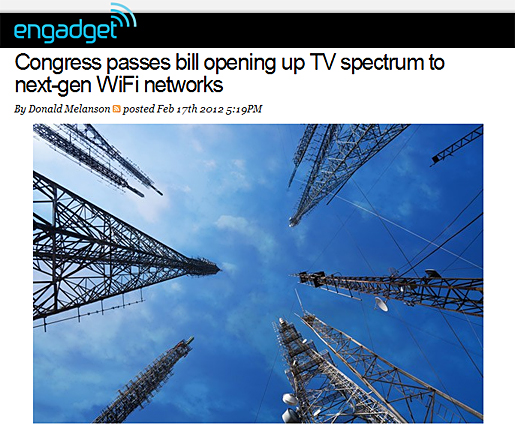 Congress passes bill opening up TV spectrum to next-gen WiFi networks