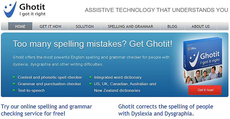 ghotit.com -- spelling and grammar checker for people with dyslexia