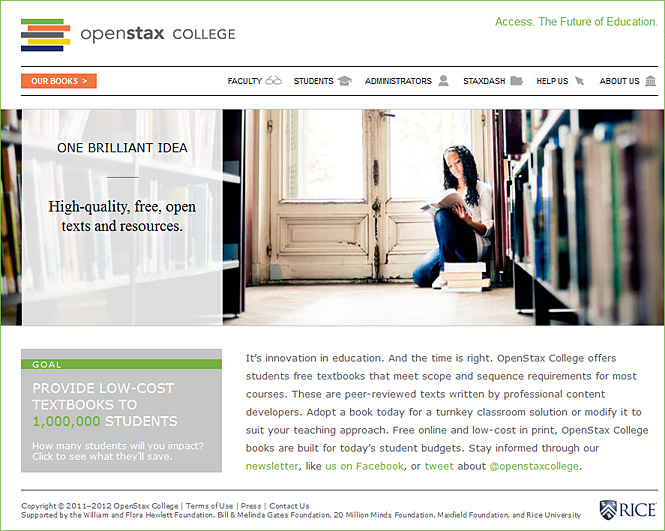 openstaxcollege.org -- Access. The future of education.