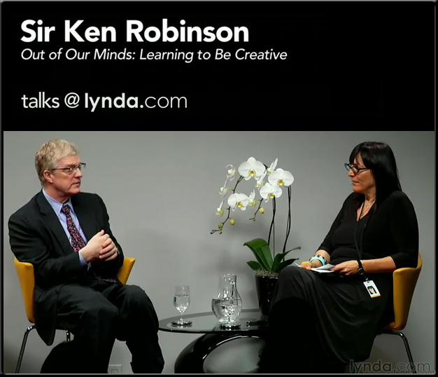 UCSB's Art & Lectures series: Sir Ken Robinson | lynda.com interview