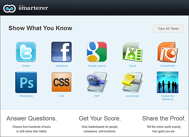 smarterer.com -- show what you know