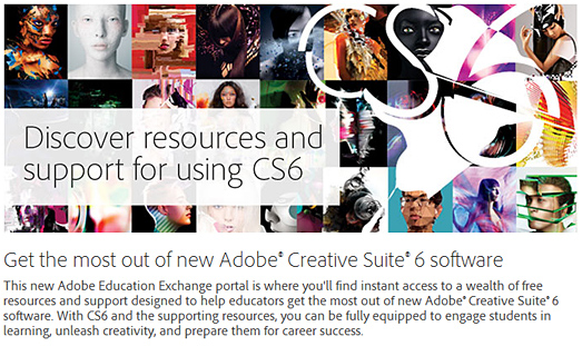 Adobe announces Creative Suite 6 and Adobe Creative Cloud on 4-23-12