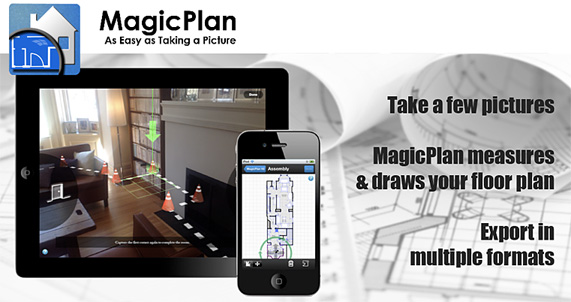Magic Plan - potentially useful and sharp tool for architecture and interior design students