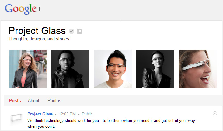 Project Glass from Google