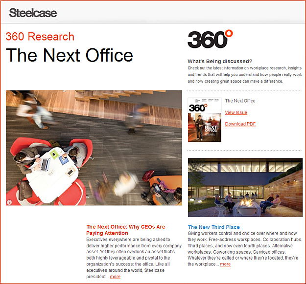 360.steelcase.com -- The Next Office from Steelcase