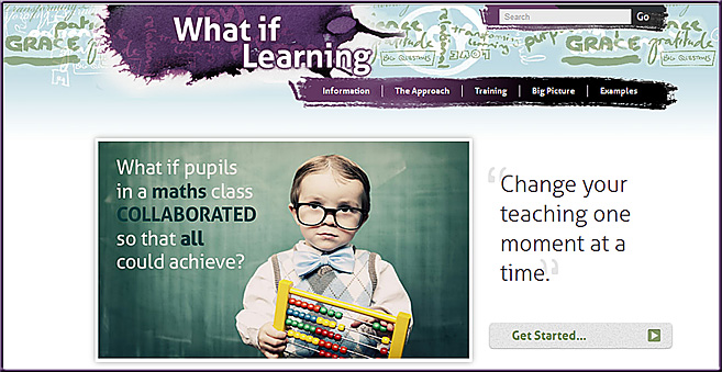 whatiflearning.co.uk -- Examples of connecting Christian faith and teaching across various ages and subjects.