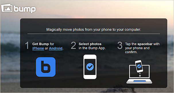 bu.mp -- move photos from your phone to your computer