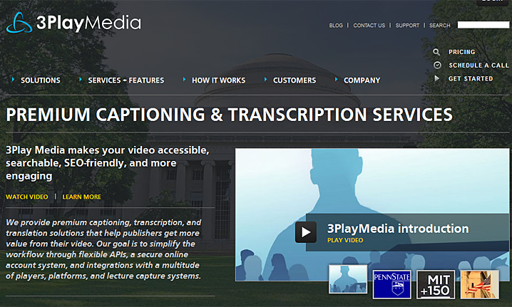Premium Captioning & Transcription Services