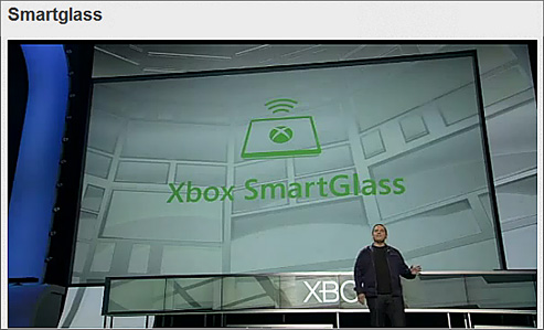 SmartGlass -- from Microsoft -- June 4, 2012