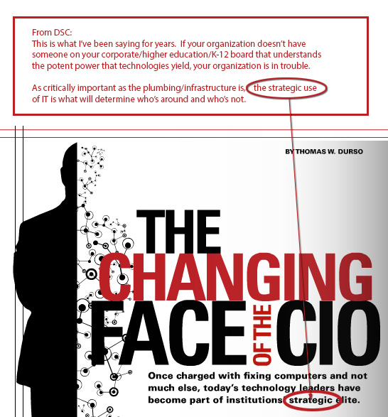 The changing face of the campus CIO - University Business September 2012
