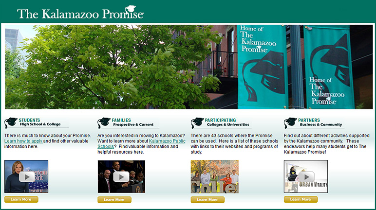 The Kalamazoo Promise- free college