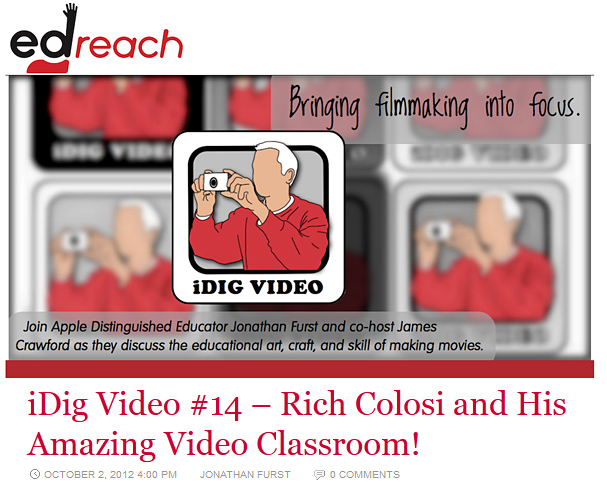 Rich Colosi and His Amazing Video Classroom!