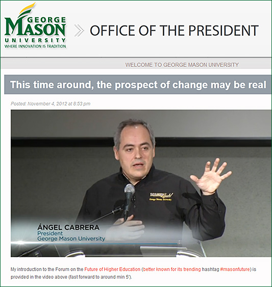 This time around, the prospect of change may be real -- Angel Cabrera -- Nov 2012
