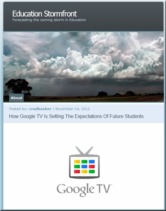 How Google TV is setting the expectations of future students