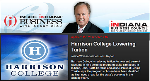 Harrison College lowering tuition -- an excellent example/direction if we want to stay relevant