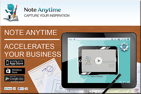 Note Anytime app