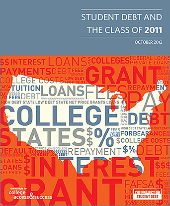 Average student debt now up to 26K+ for Class of 2011