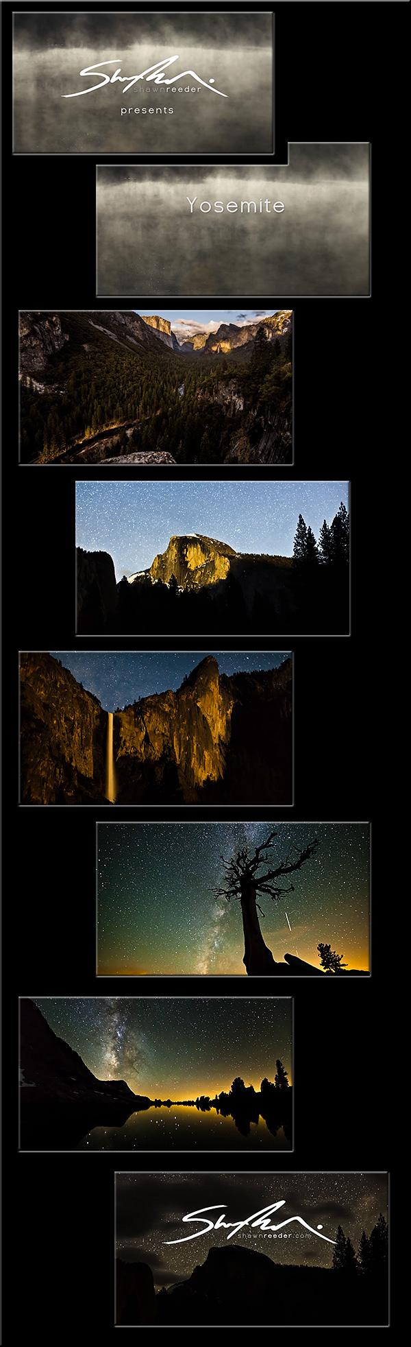Yosemite Range of Light -- by Shawn Reeder