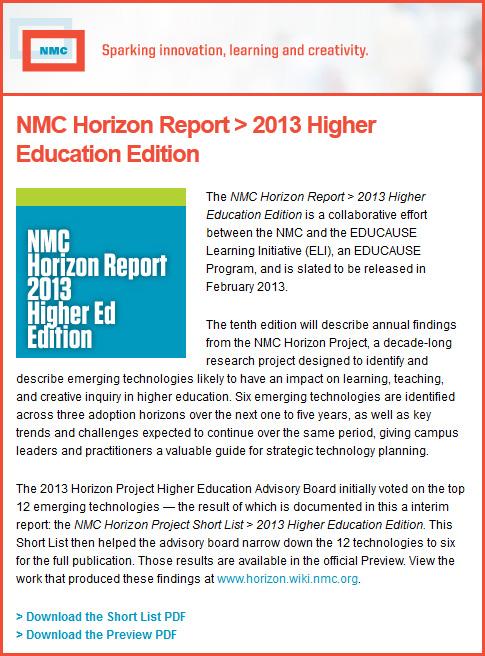 NMC2013Preview