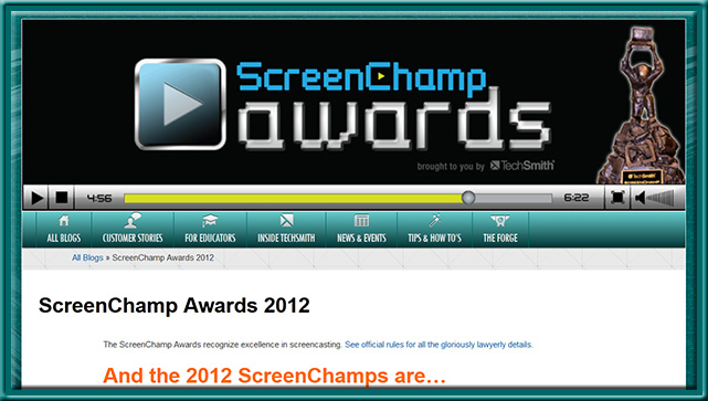 ScreenChampsAwards-Techsmith2012