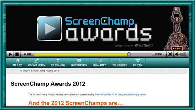 ScreenChampsAwards-Techsmith2012