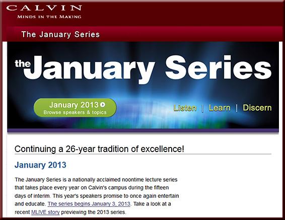 CalvinsJanuarySeries2013